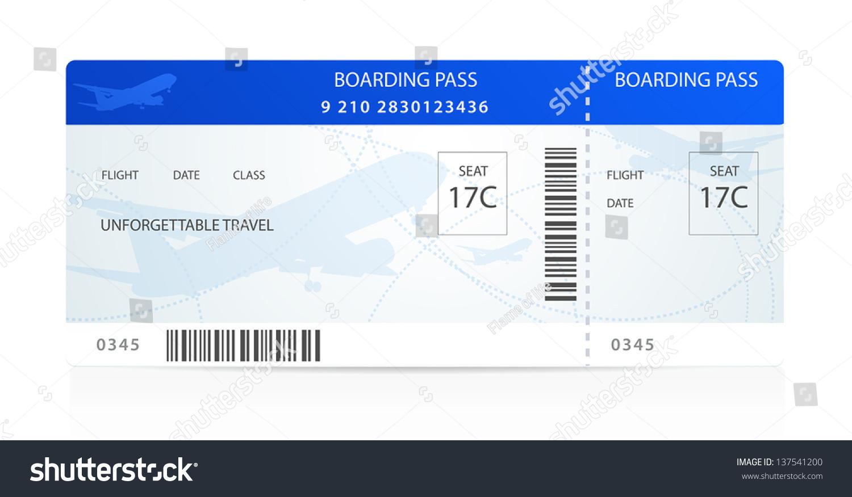 royalty free blue boarding pass ticket traveler 137541200 stock photo. Black Bedroom Furniture Sets. Home Design Ideas