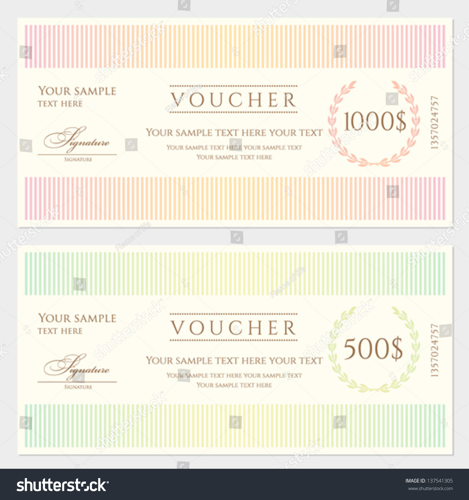 Voucher Certificate Template sales contact sheet template – Voucher Certificate Template