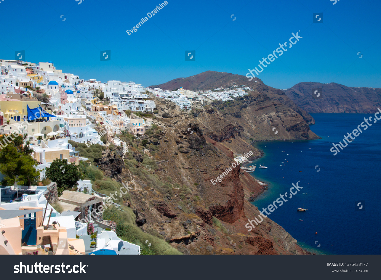 stock-photo-santorini-crete-greece-july-