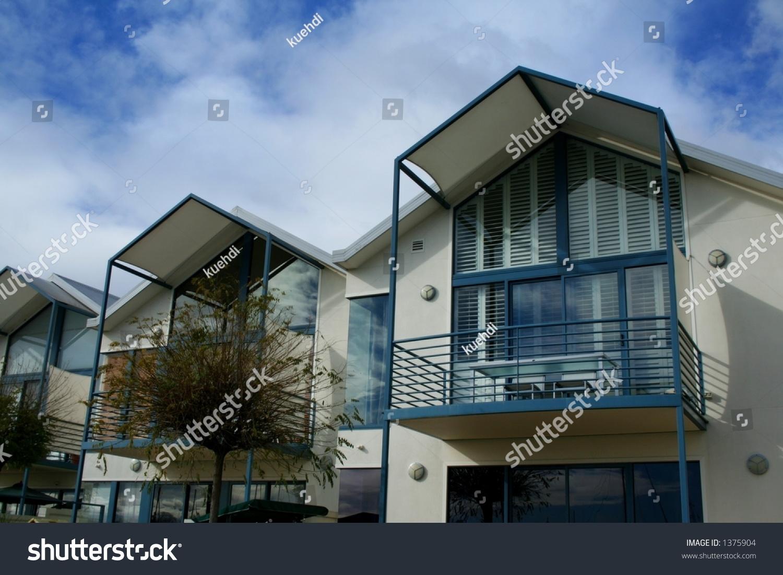 Modern Housing Facade Stock Photo (Edit Now) 1375904