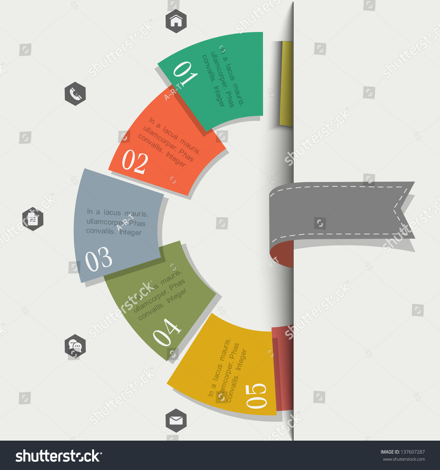 creative design template infographics website templates stock creative design template for infographics and website templates or design graphic for business vector eps10