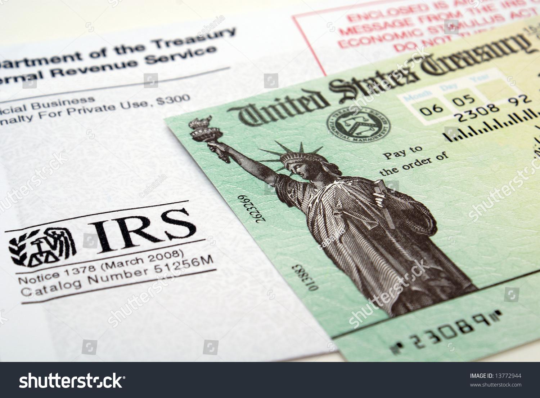 Stimulus economic tax return check usa stock photo 13772944 stimulus economic tax return check and usa currency falaconquin