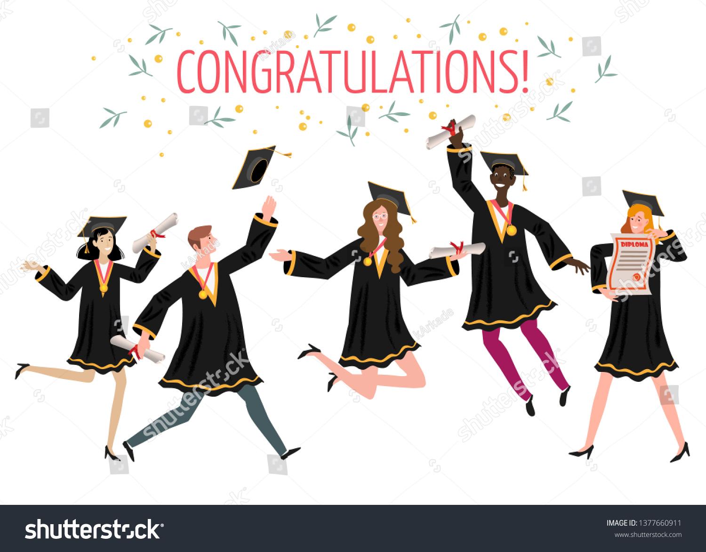 Greeting Card Congratulations /'graduate/' Graduation
