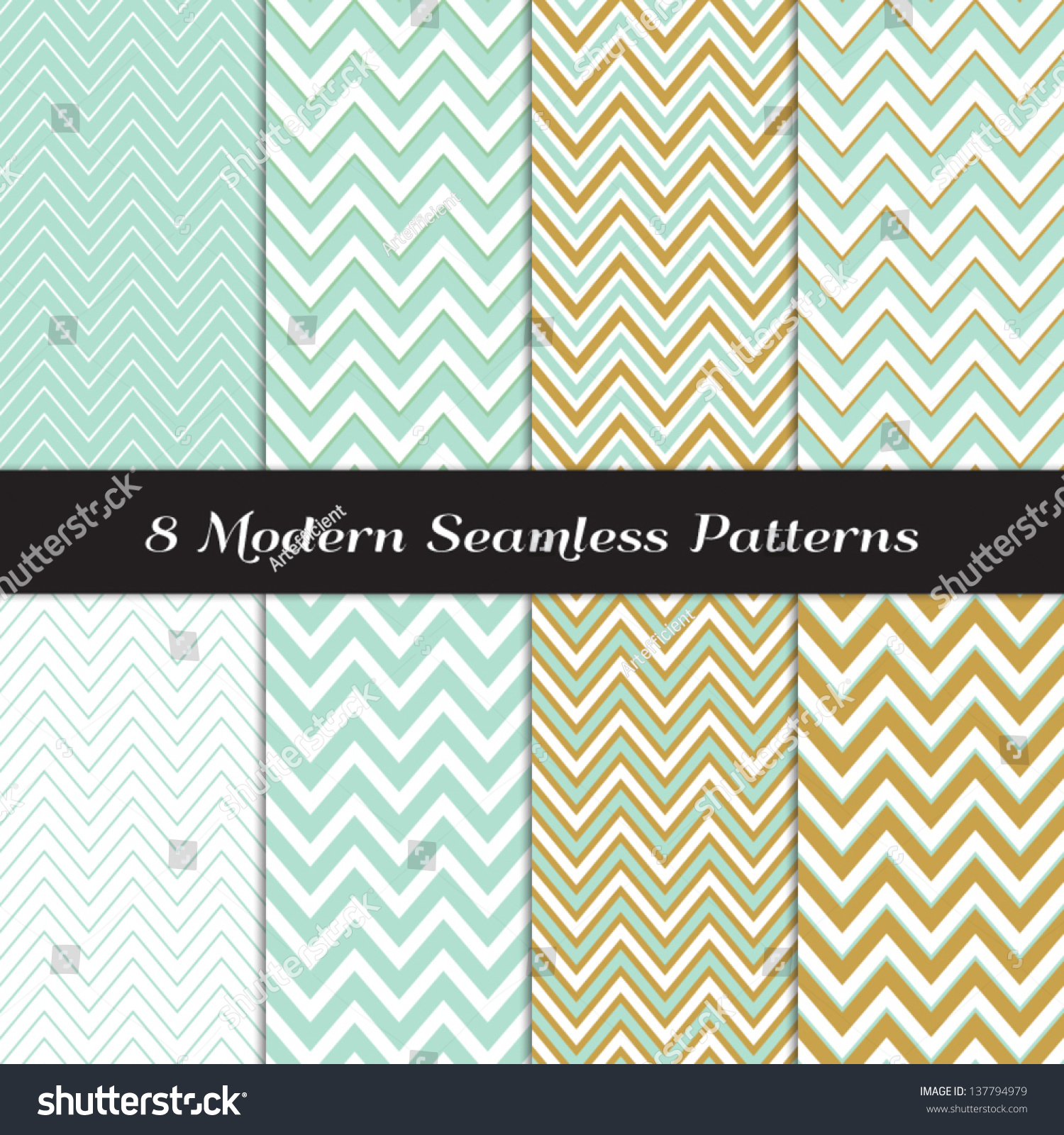 Pics photos merry christmas argyle twitter backgrounds - Green Mint And Gold Chevron And Argyle Seamless Patterns Pattern Swatches Included And Made With