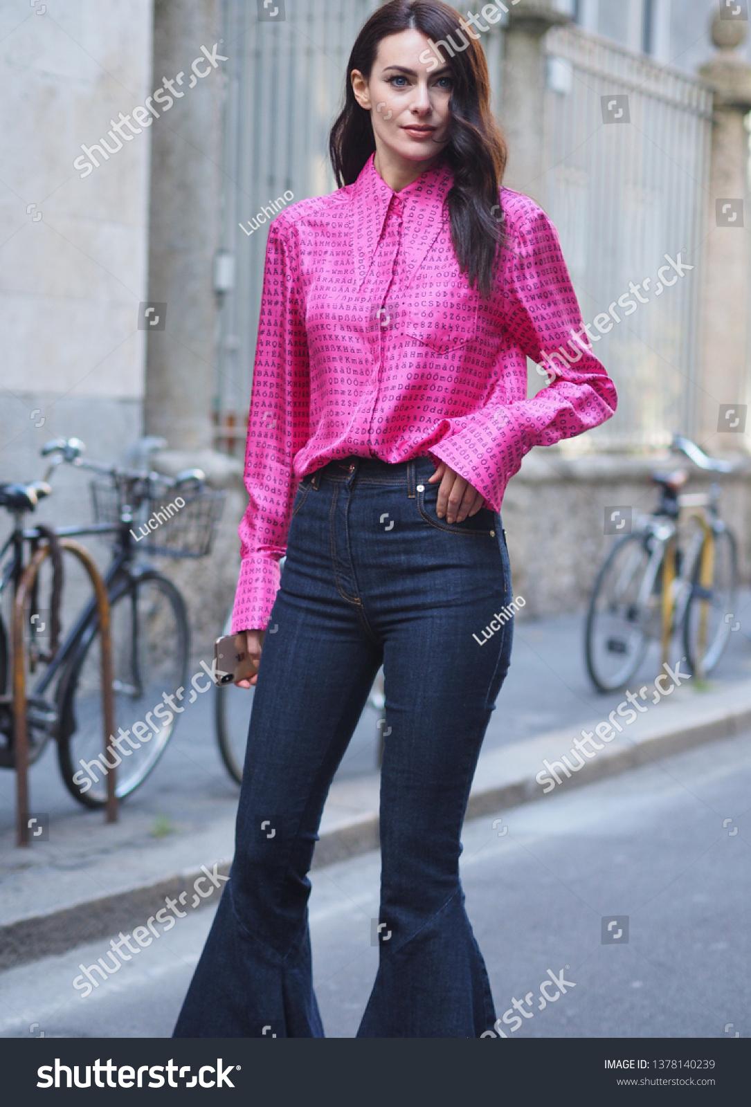 Milan Italy 22 February 2019italian Actress Stock Photo Edit Now 1378140239