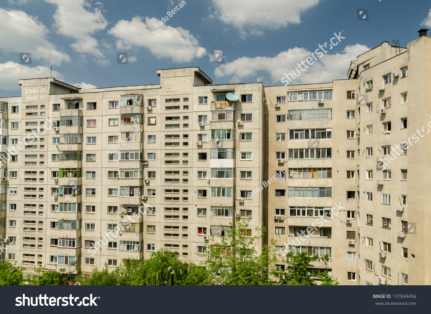 Bucharest romania may 03 communist apartments stock photo for Bucharest apartments