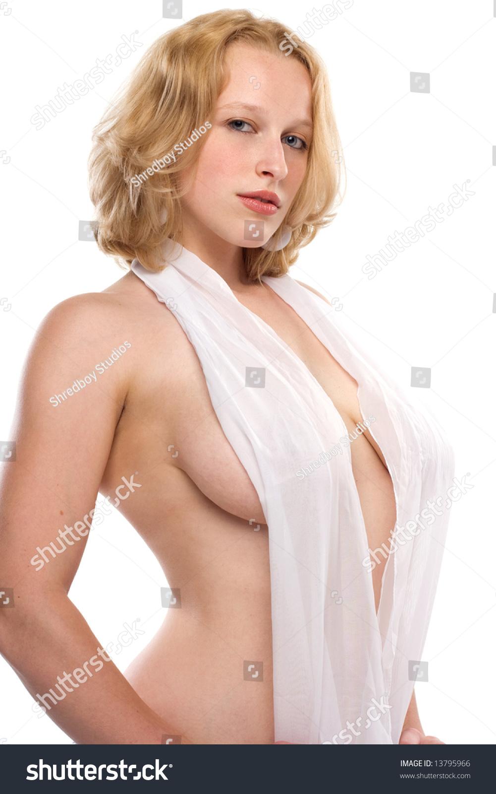 Voluptuos blonde