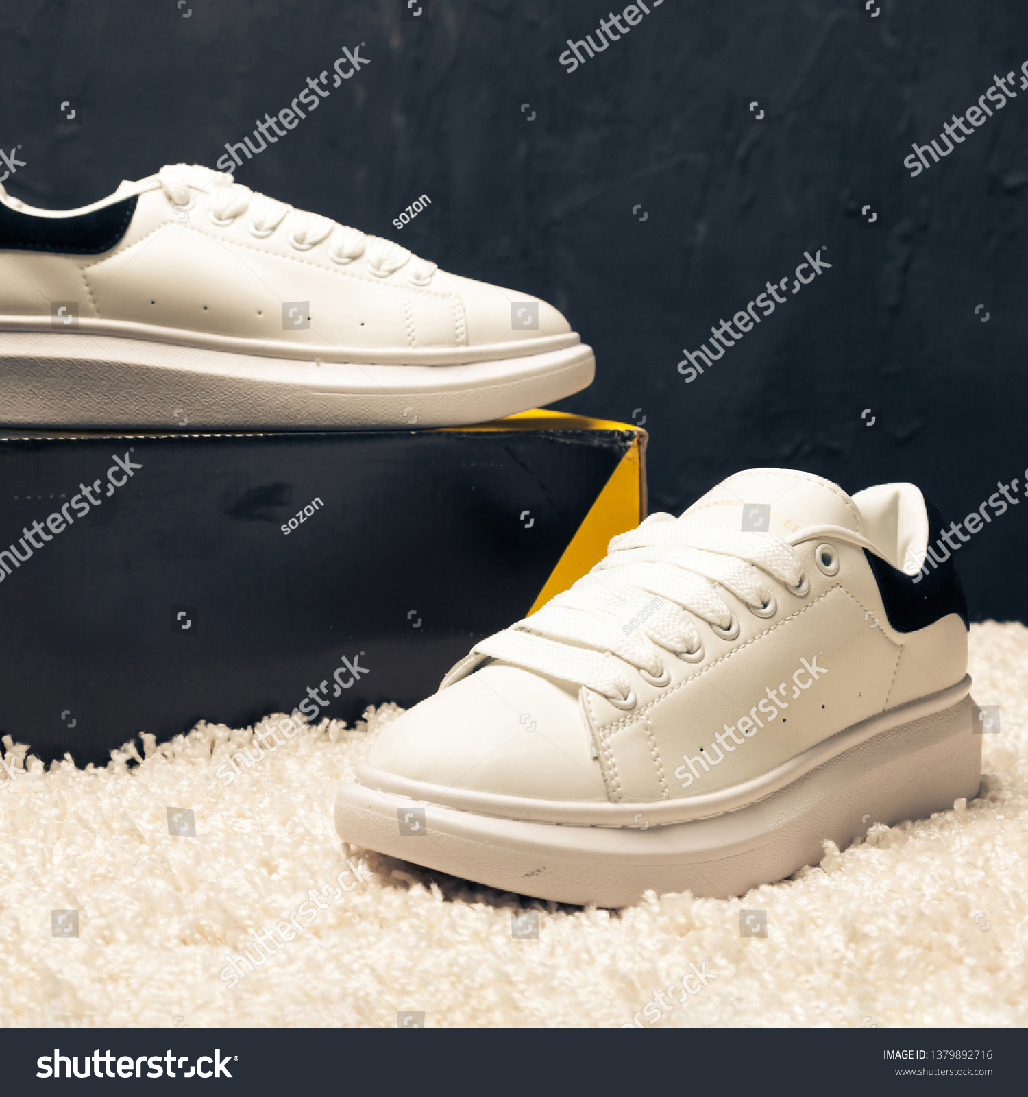 Chillido Competir Talla  New Beautiful Colorful Nice Adidas Mcqueen Stock Photo (Edit Now) 1379892716