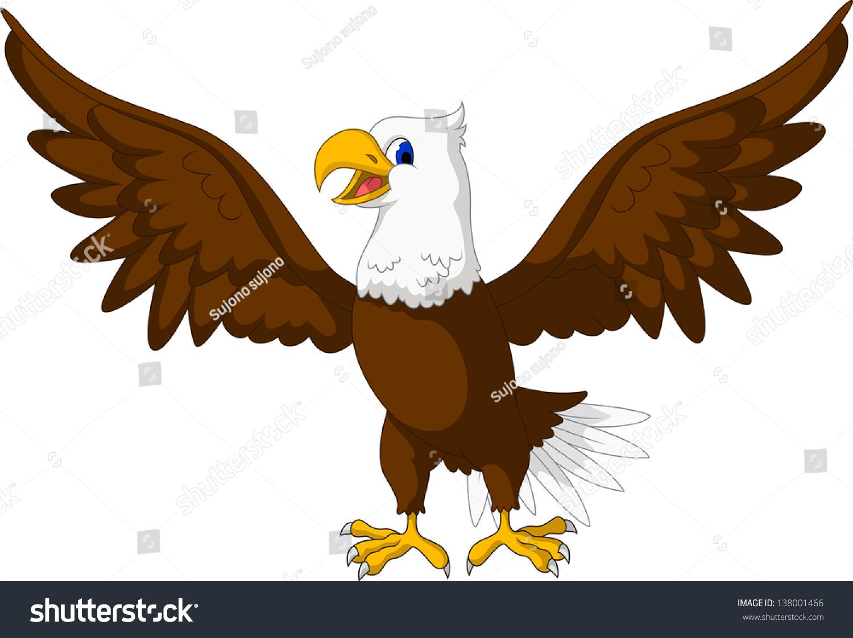 Eagle cartoon clip art
