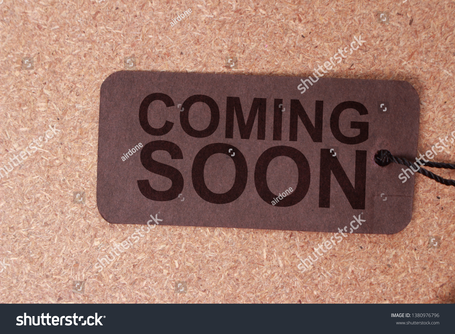 Coming Soon Motivational Inspirational Business Marketing Stock Photo Edit Now 1380976796