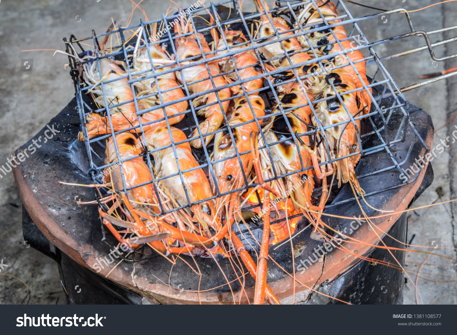 Famous Seafood People Around World Well Stock Photo (Edit