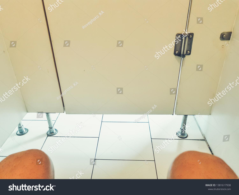 hidden camera in the toilet