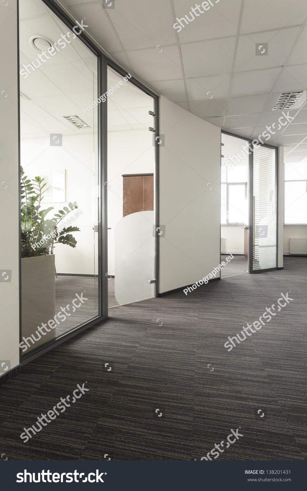 modern interior office. Modern Interior Office Stock. Of An Office, Glass Door Stock T