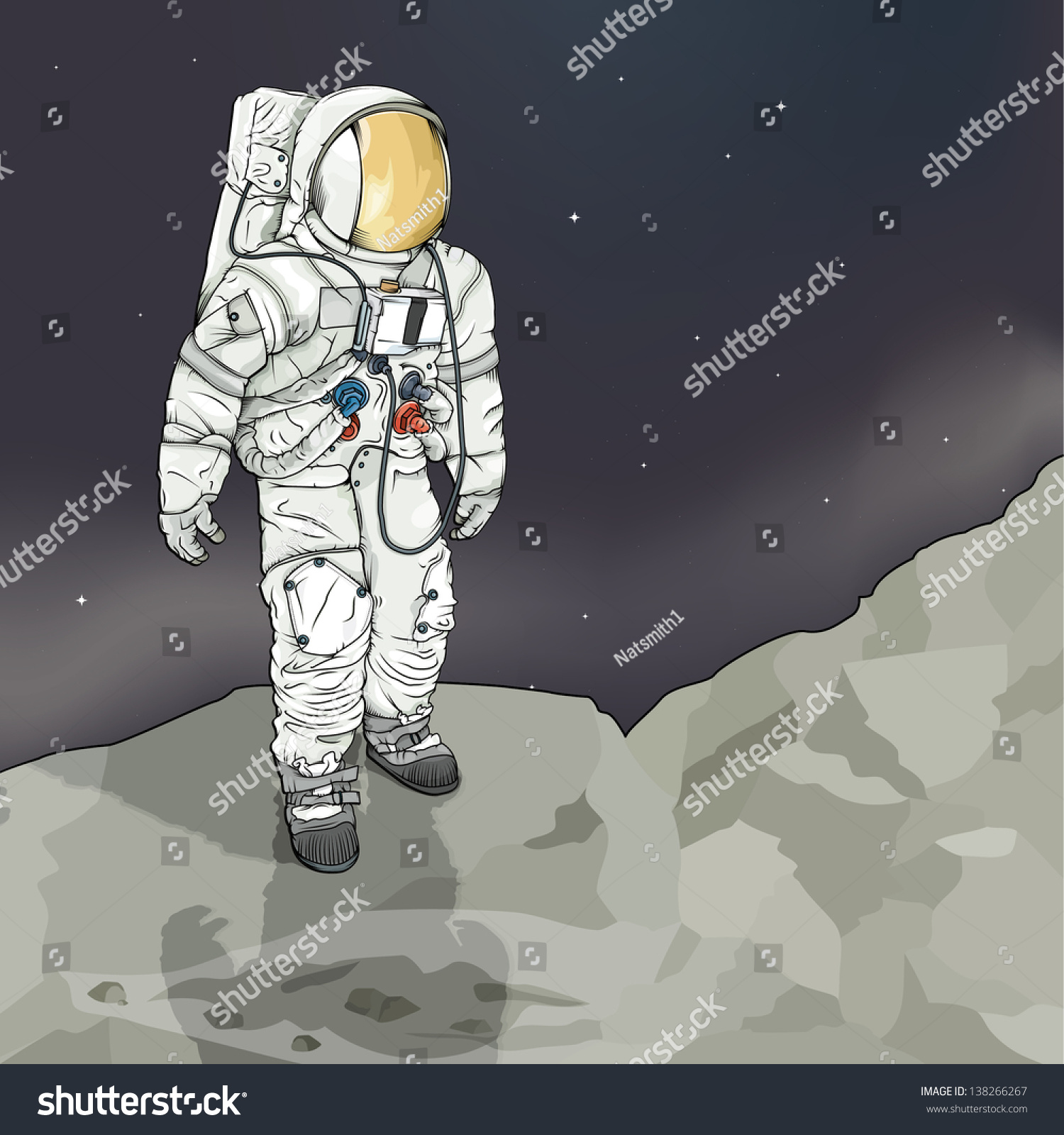 model of layers of the space suit - photo #19