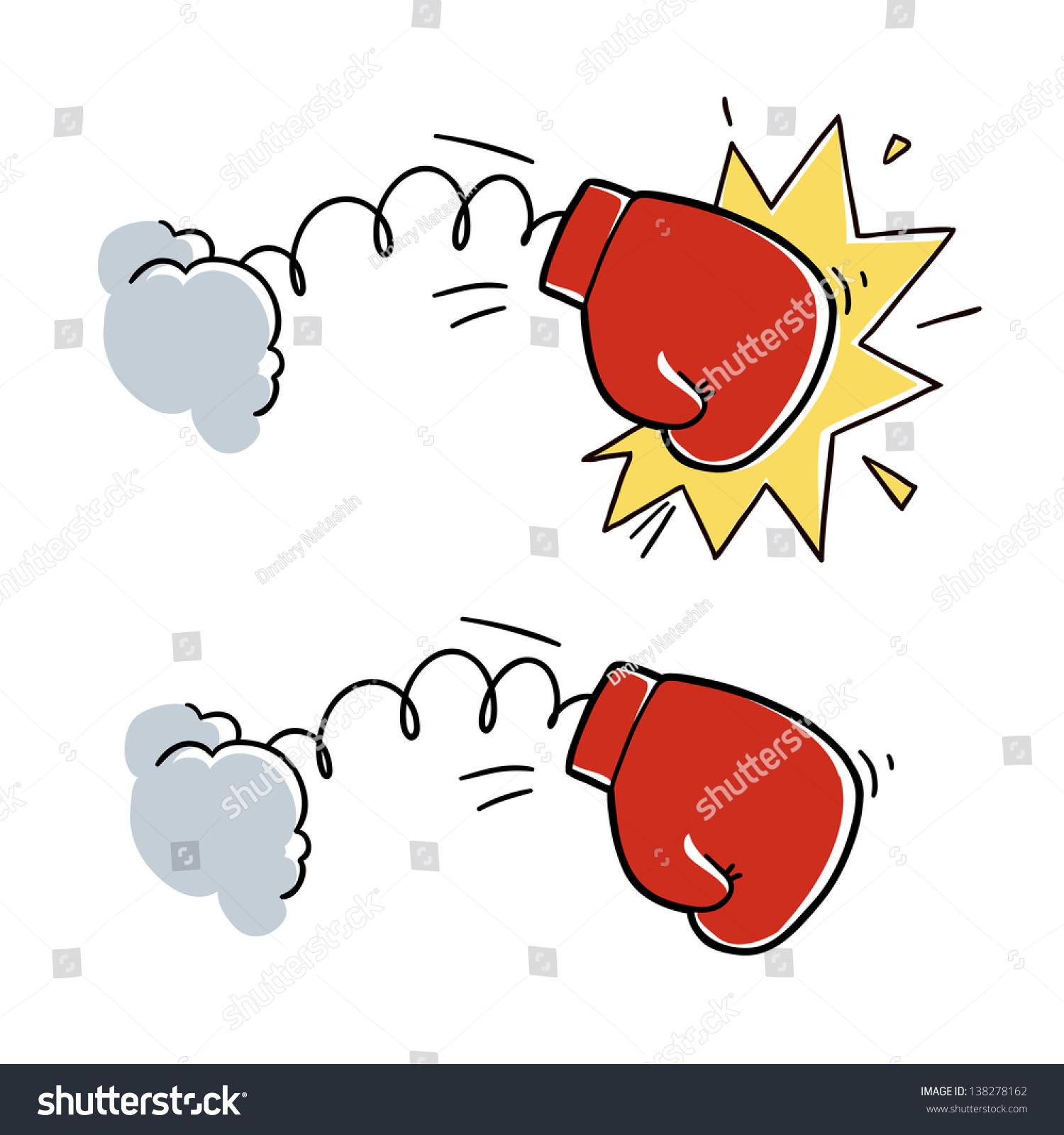 Http Galleryhip Com Boxer Punch Cartoon Html