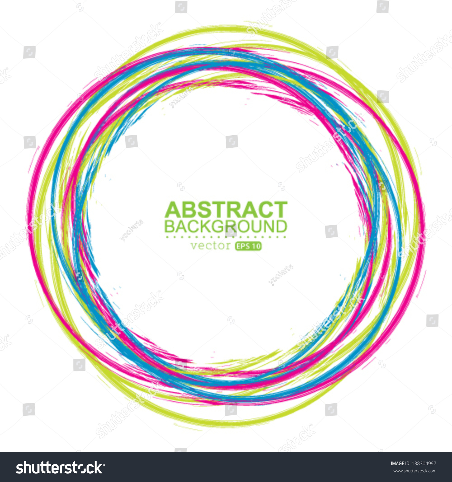 colorful circle vector graphic - photo #33