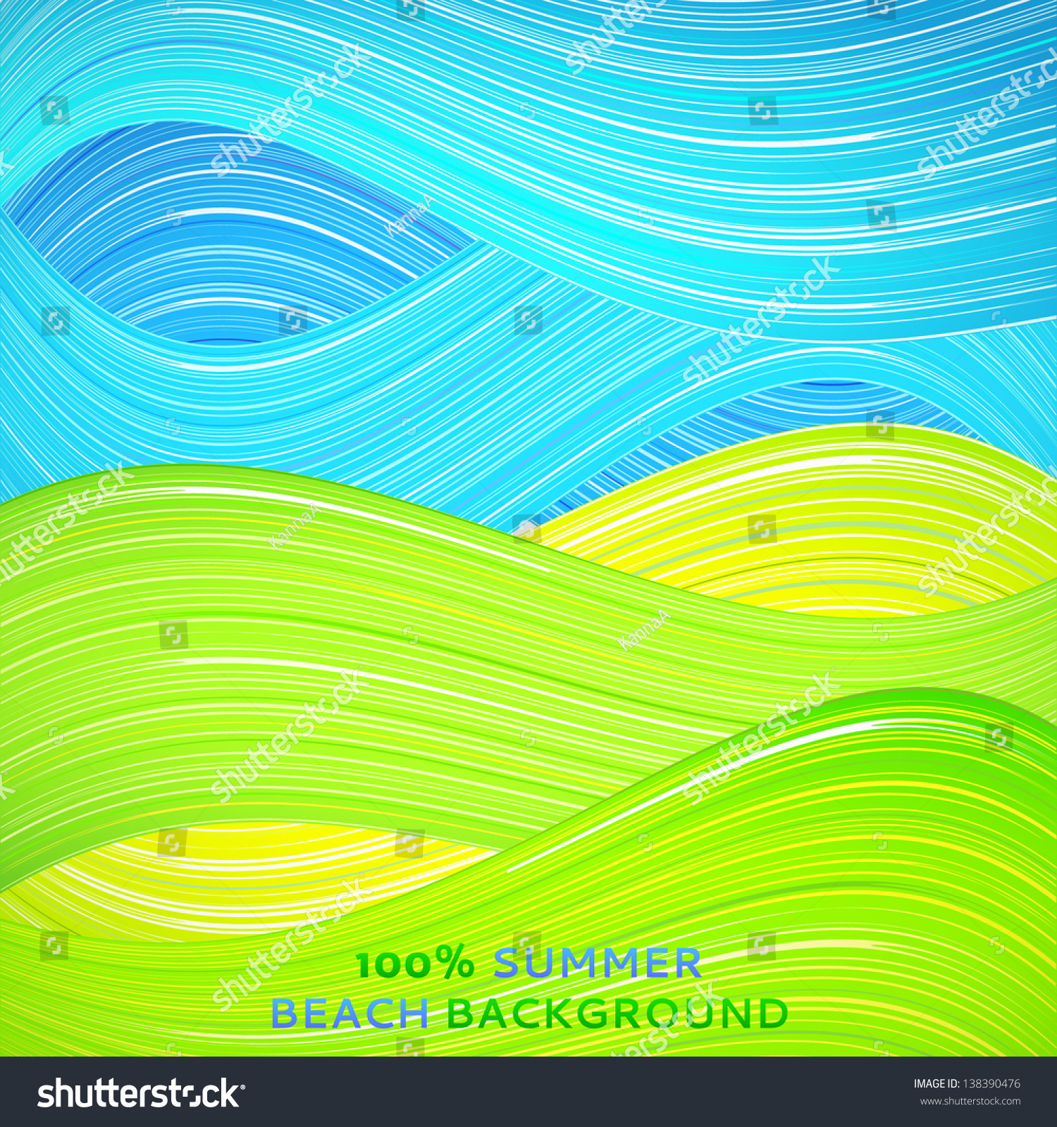 Green Book Cover Background : Green and blue wave background vector illustration for