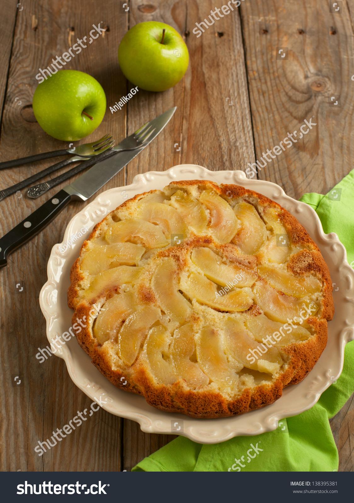 Upside Down Apple Cake Tasty