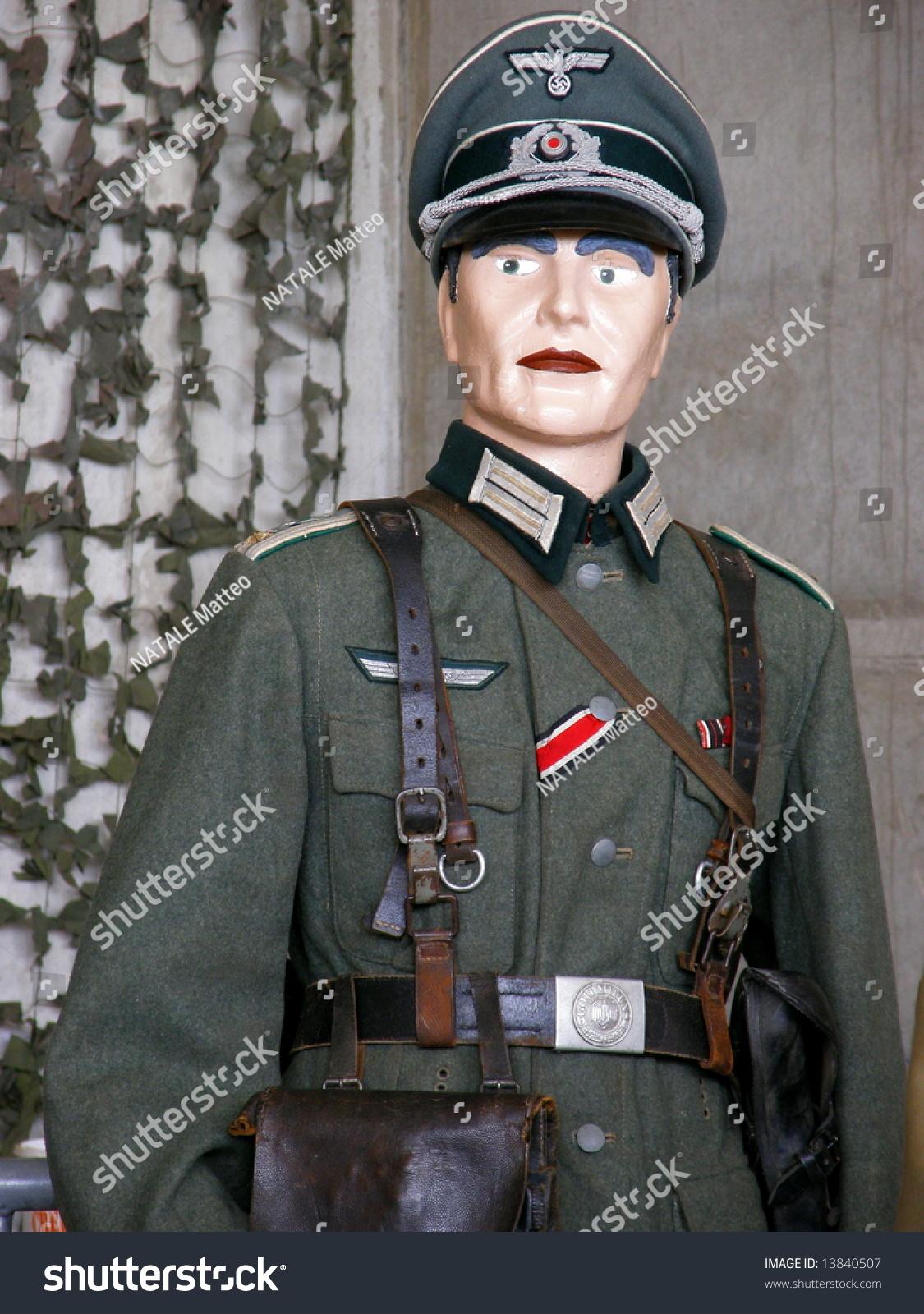 German Officer Wehrmacht Stock Photo 13840507 - Shutterstock