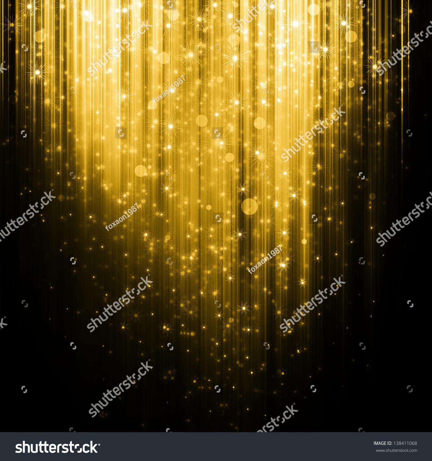 shiny golden lights stock - photo #4