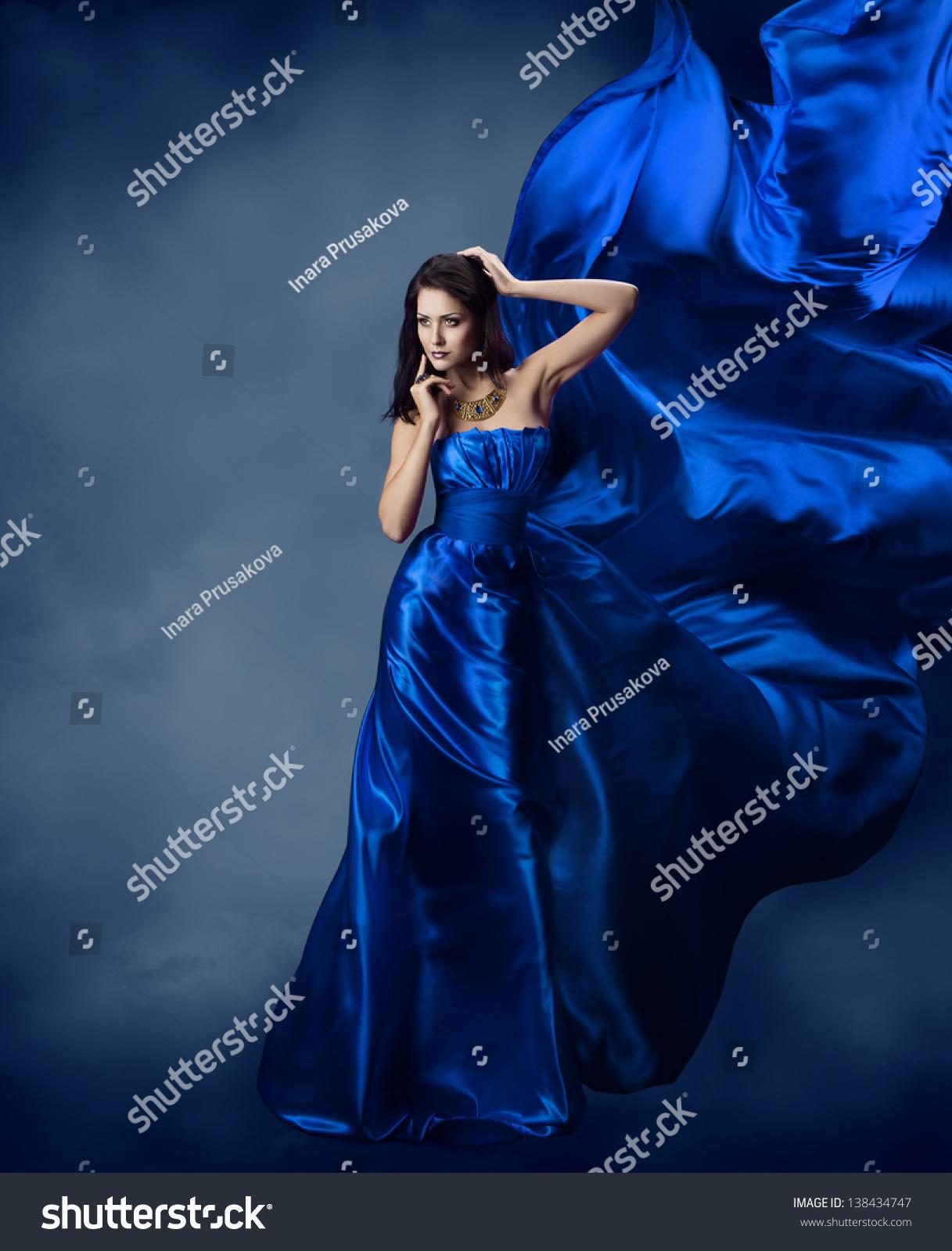 Фото девушек в шёлковых платьях 8 фотография