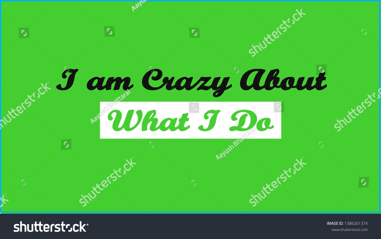 Desktop Wallpaper Motivational Quote Desktop Pc Stock Illustration
