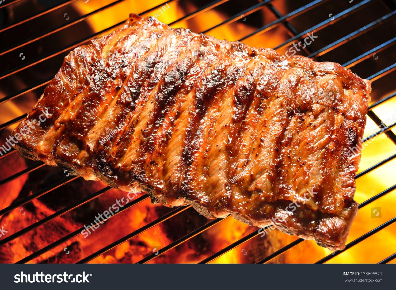 Рецепт барбекю из свиных ребрышек