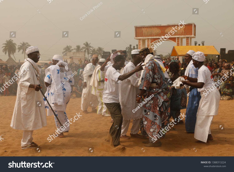 Ouidah Benin January 10 2015 Voodoo Stock Photo (Edit Now