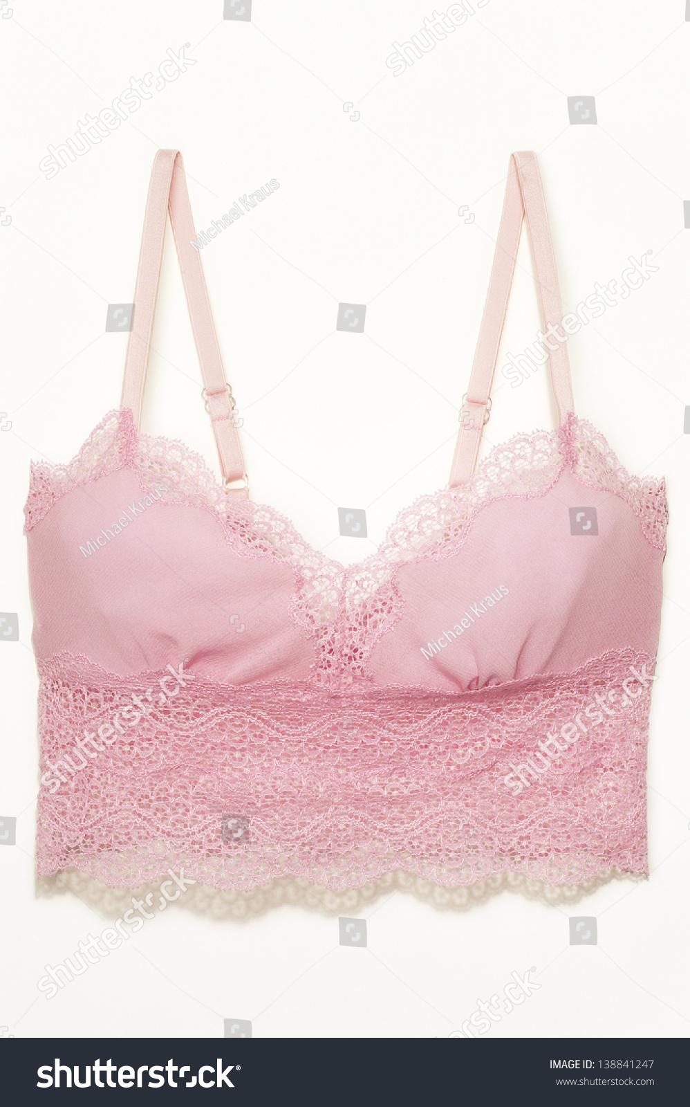 fb4ed3013ee1 Pink Camisole Bra Stock Photo (Edit Now) 138841247 - Shutterstock