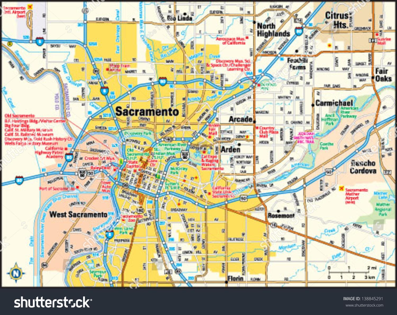 Sacramento California Ca Profile Population Maps Autos Post