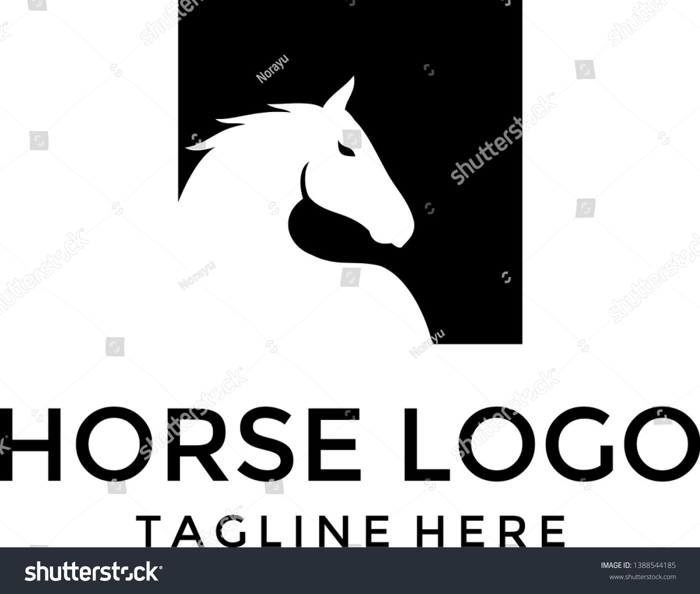Vector De Stock Libre De Regalias Sobre Abstract Horse Logo Vector Silhouette1388544185