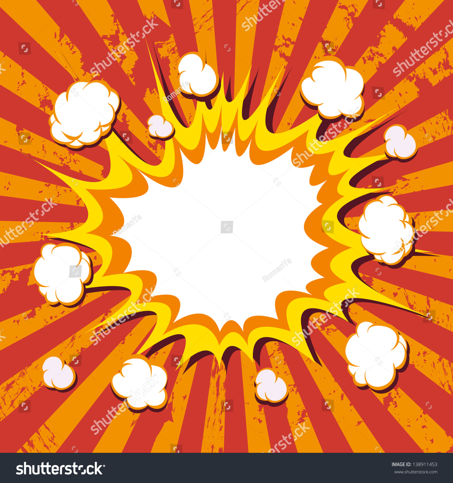 background boom comic book explosion stock vector royalty free