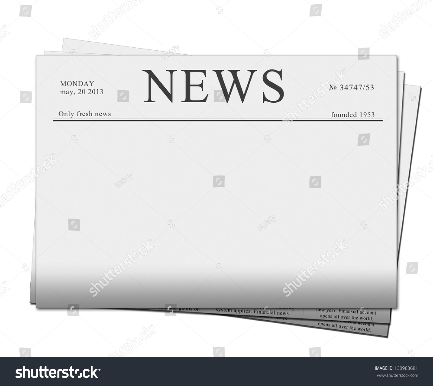 newspaper front page blank template newspaper templates primary resources page borders page 1