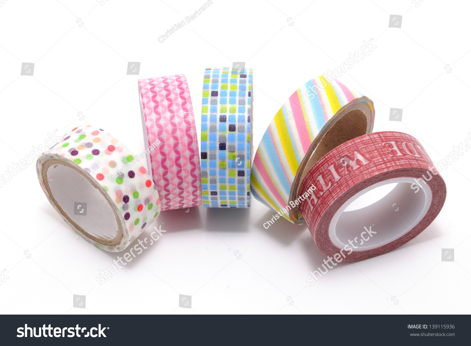 What can be made of tapes