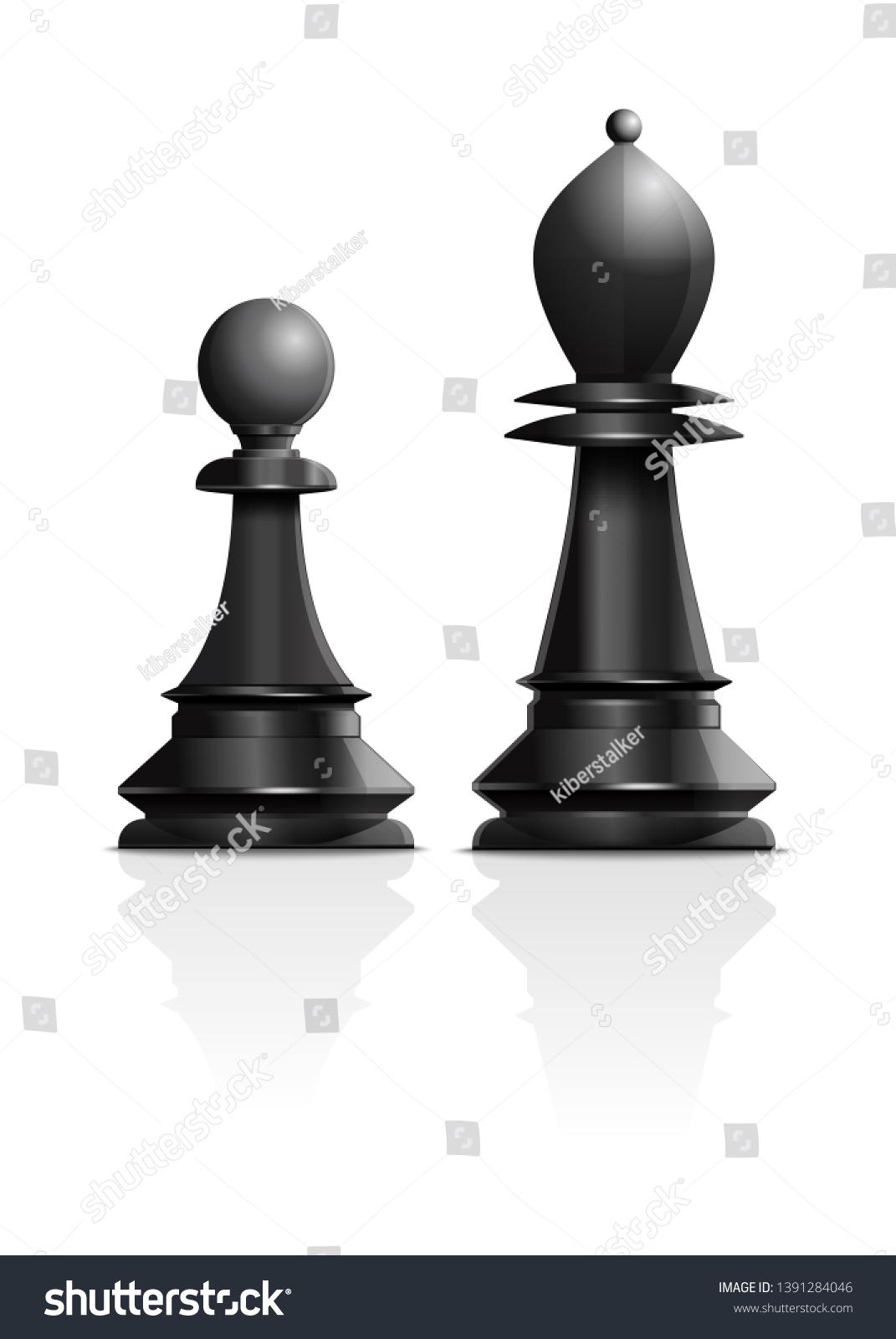 Chess Pawn Black