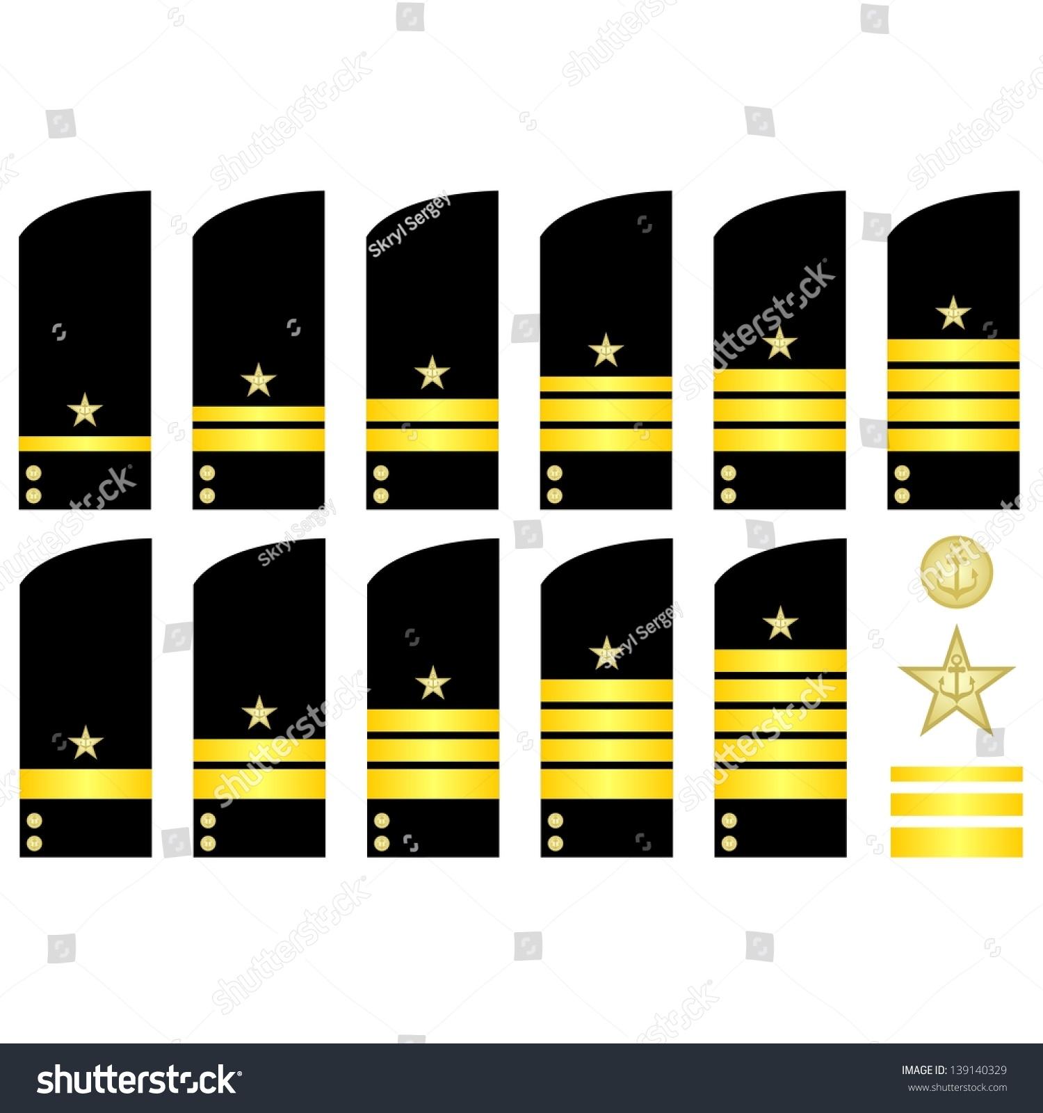 Military ranks insignia world illustration on stock vector 139140329 military ranks and insignia of the world the illustration on a white background biocorpaavc Images
