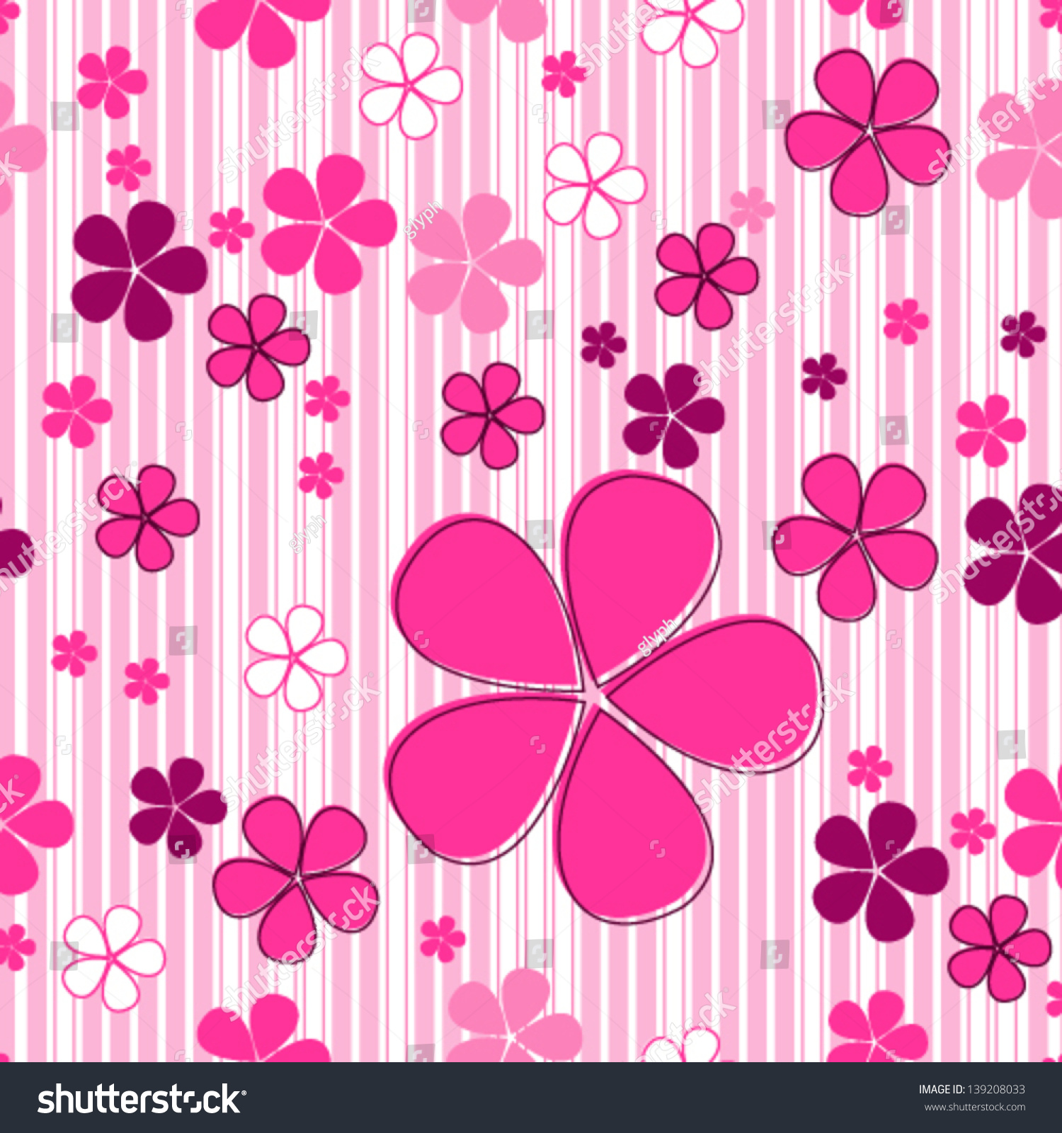 Cute spring flower - Cute Kids In Spring Flowers Amp Nature Background