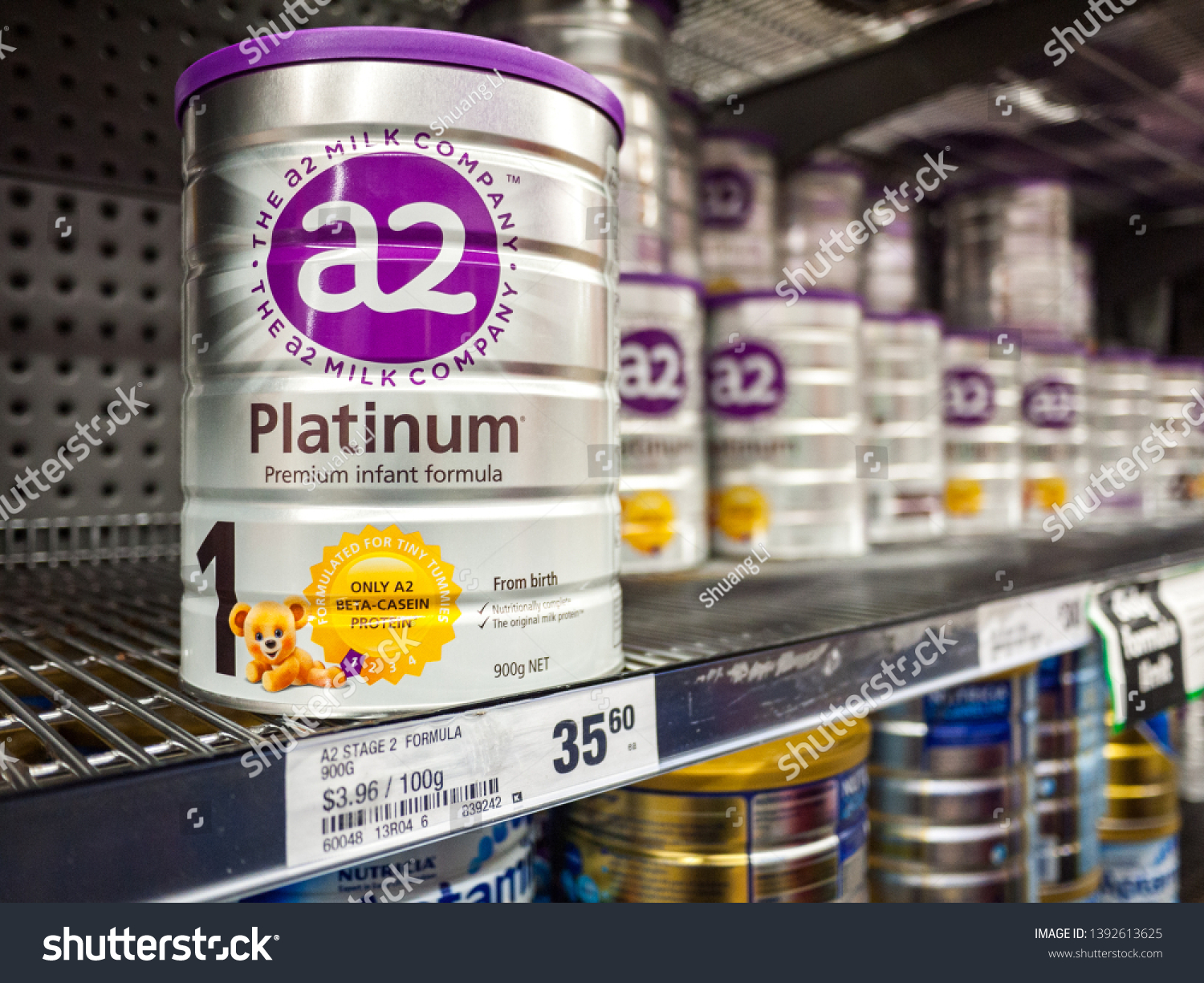 Melbourne Vicaustraliamay 3rd 2019 A2 Baby Business Finance Stock Image 1392613625