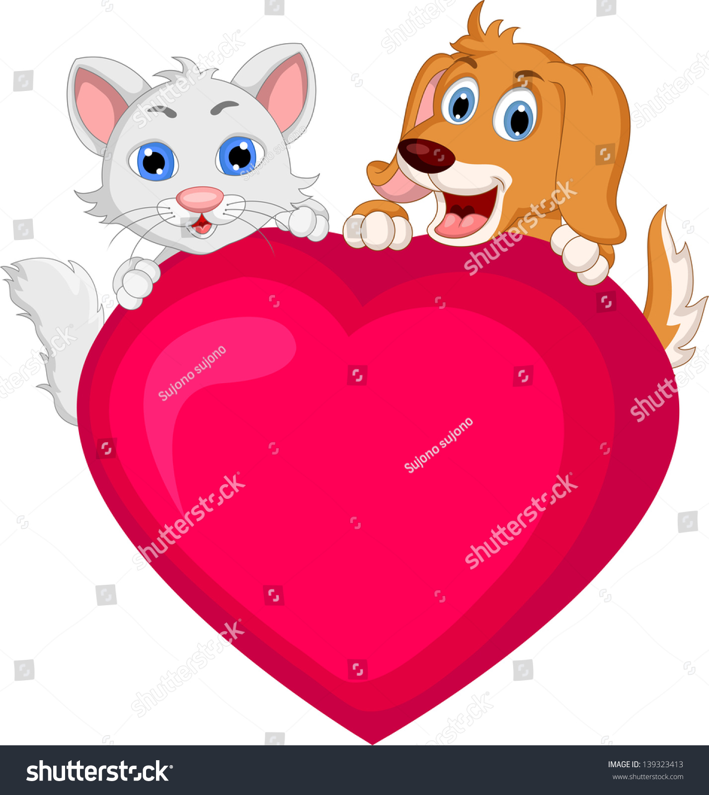Cartoon dog stock photos images amp pictures shutterstock - Source Image Shutterstock Com