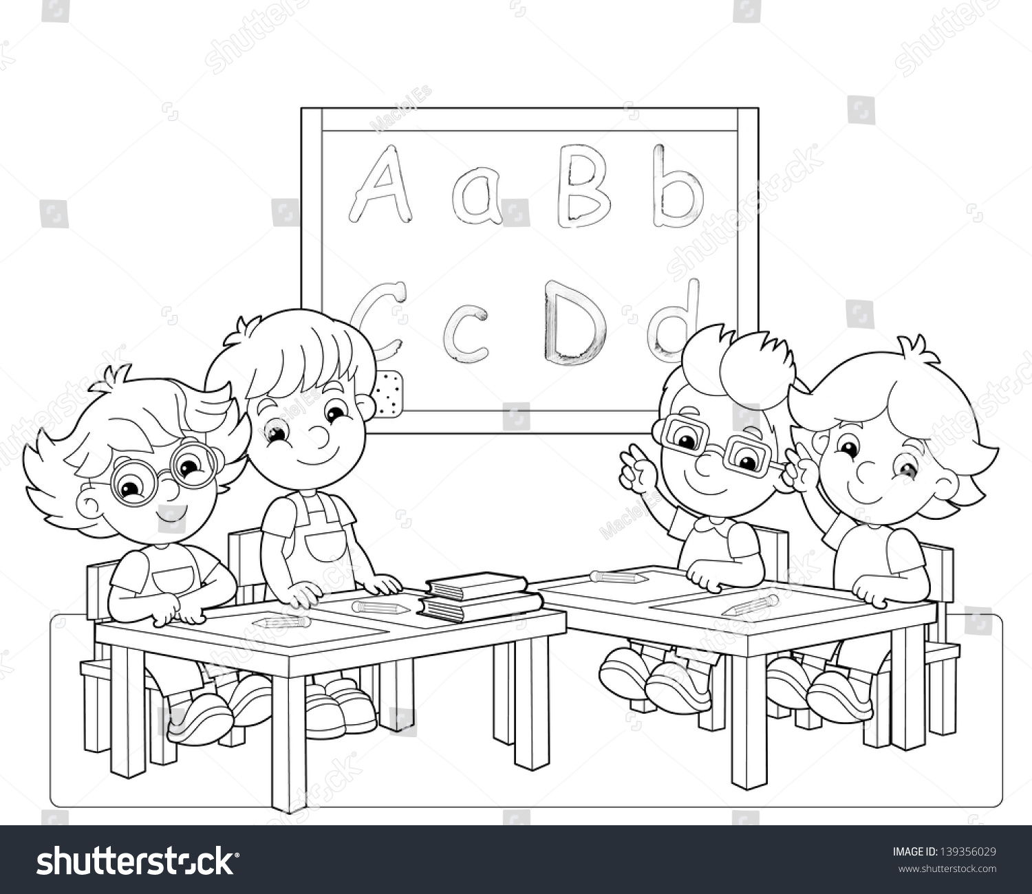 Clip Art Classroom Rules Coloring Pages classroom coloring pages eassume com page az pages