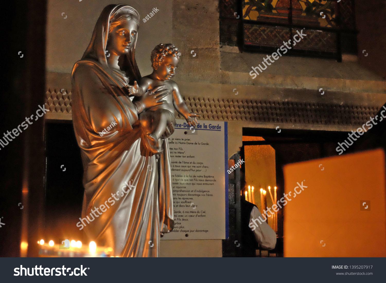 Garde Du Corps Marseille marseille france november 12 2017 statue stock photo (edit