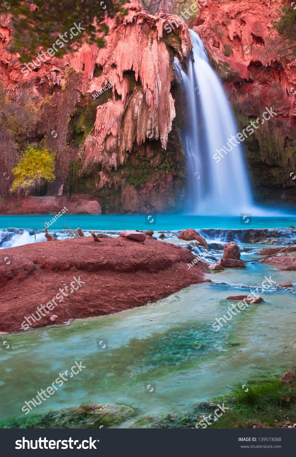 Most Beautiful Falls In United States Havasu Falls Supai