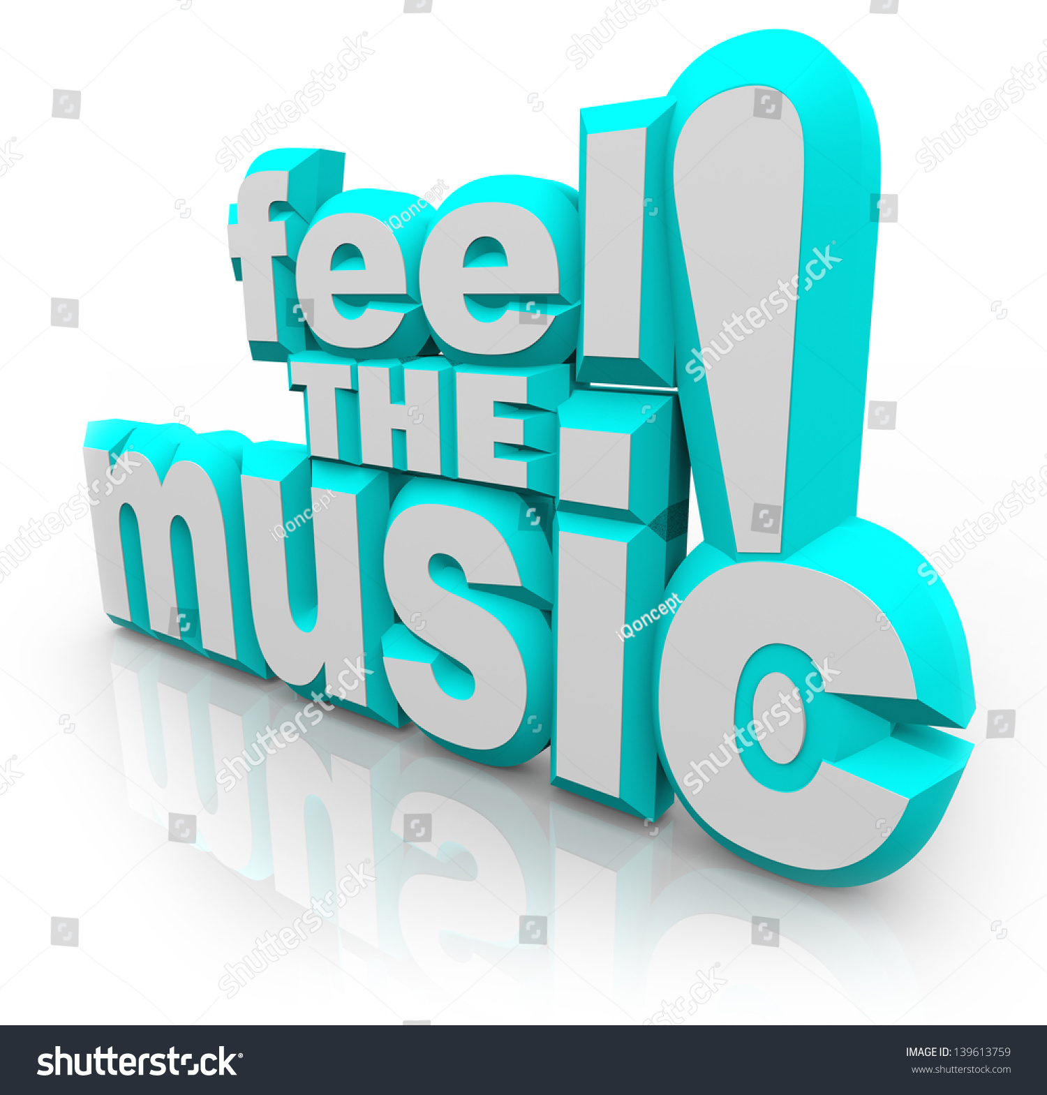 Words feel music 3d letters symbolize stock illustration 139613759 the words feel the music in 3d letters to symbolize dancing and feeling the rhythm buycottarizona
