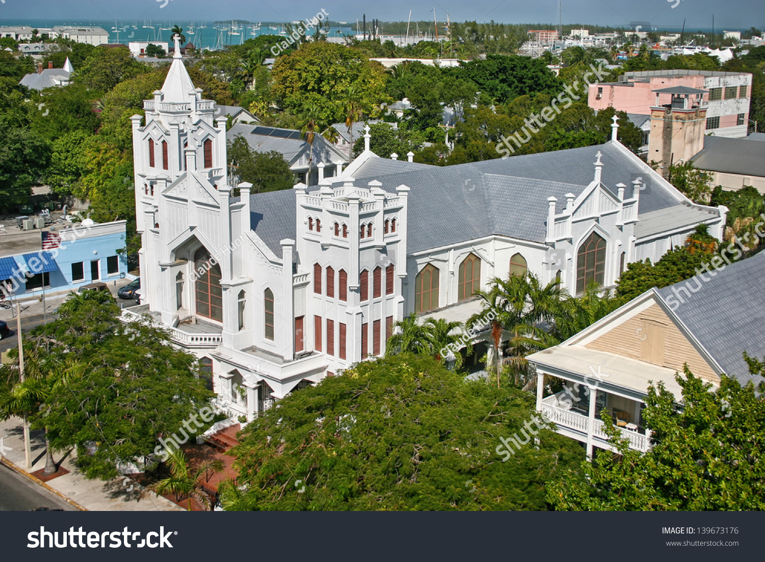 St. Paul's Episcopal Church in Key West, Florida, USA