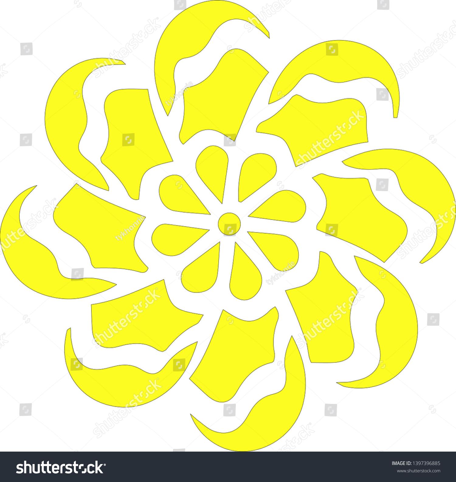stock-vector-yellow-chamomile-flower-vec