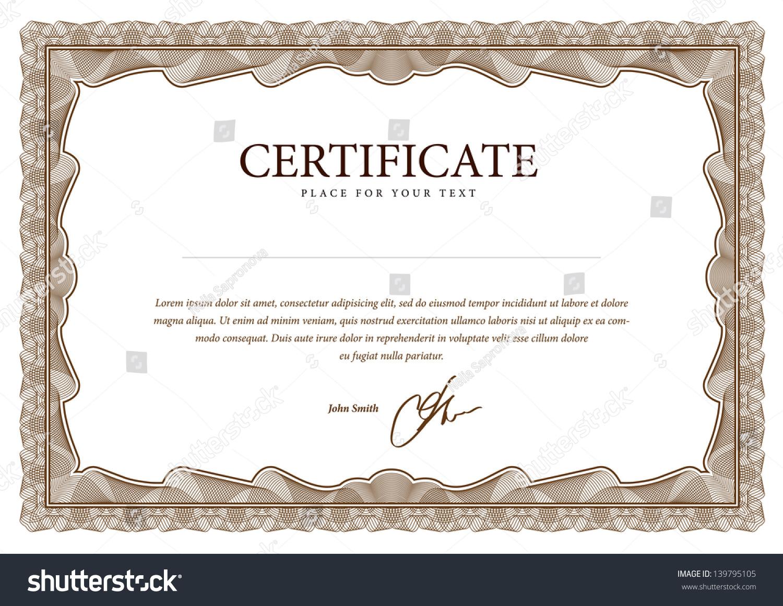 B F Goodrich Company Certificate Original 40 free – Blank Share Certificates