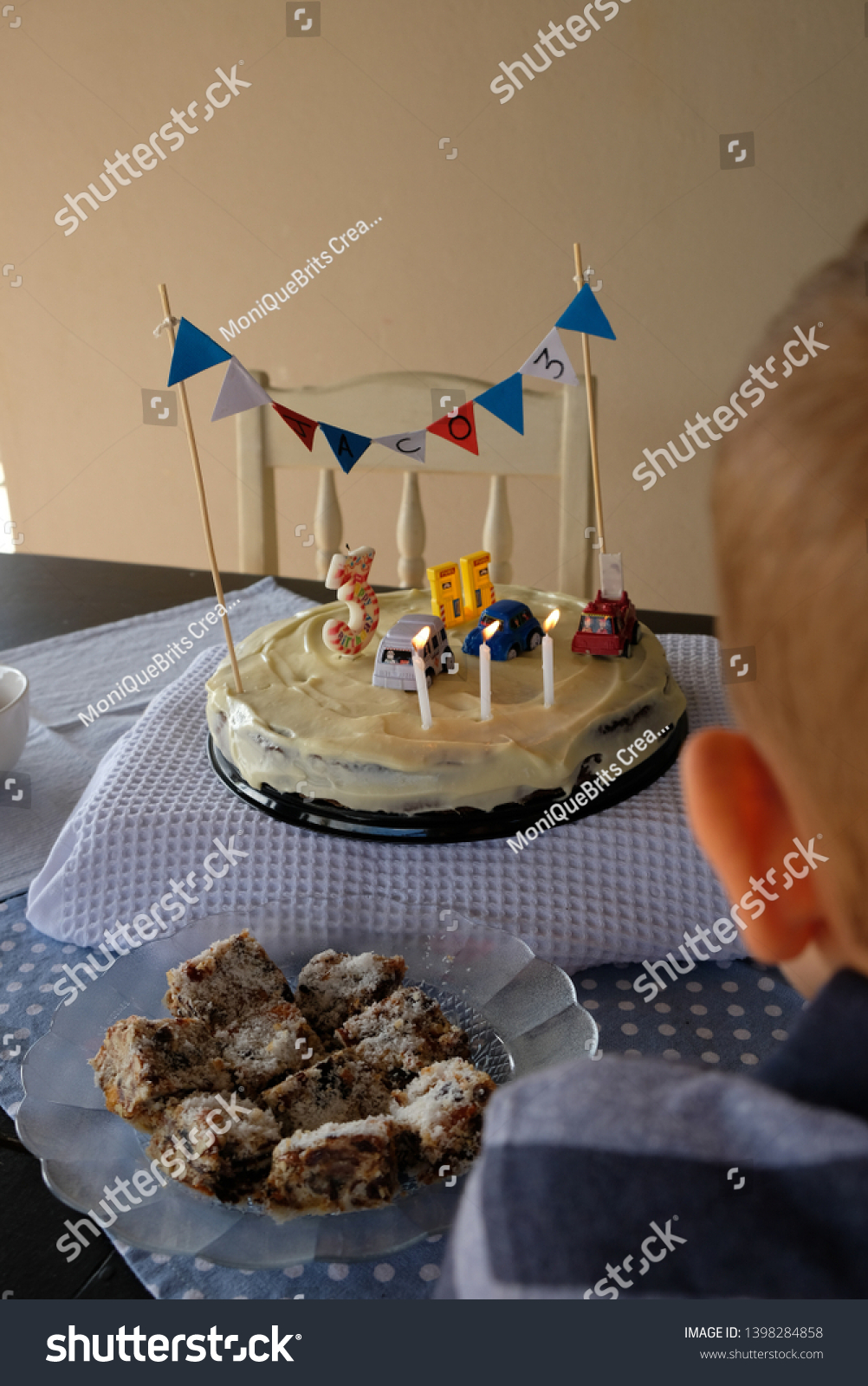 Magnificent 3 Year Old Birthday Cake Stock Photo Edit Now 1398284858 Funny Birthday Cards Online Fluifree Goldxyz
