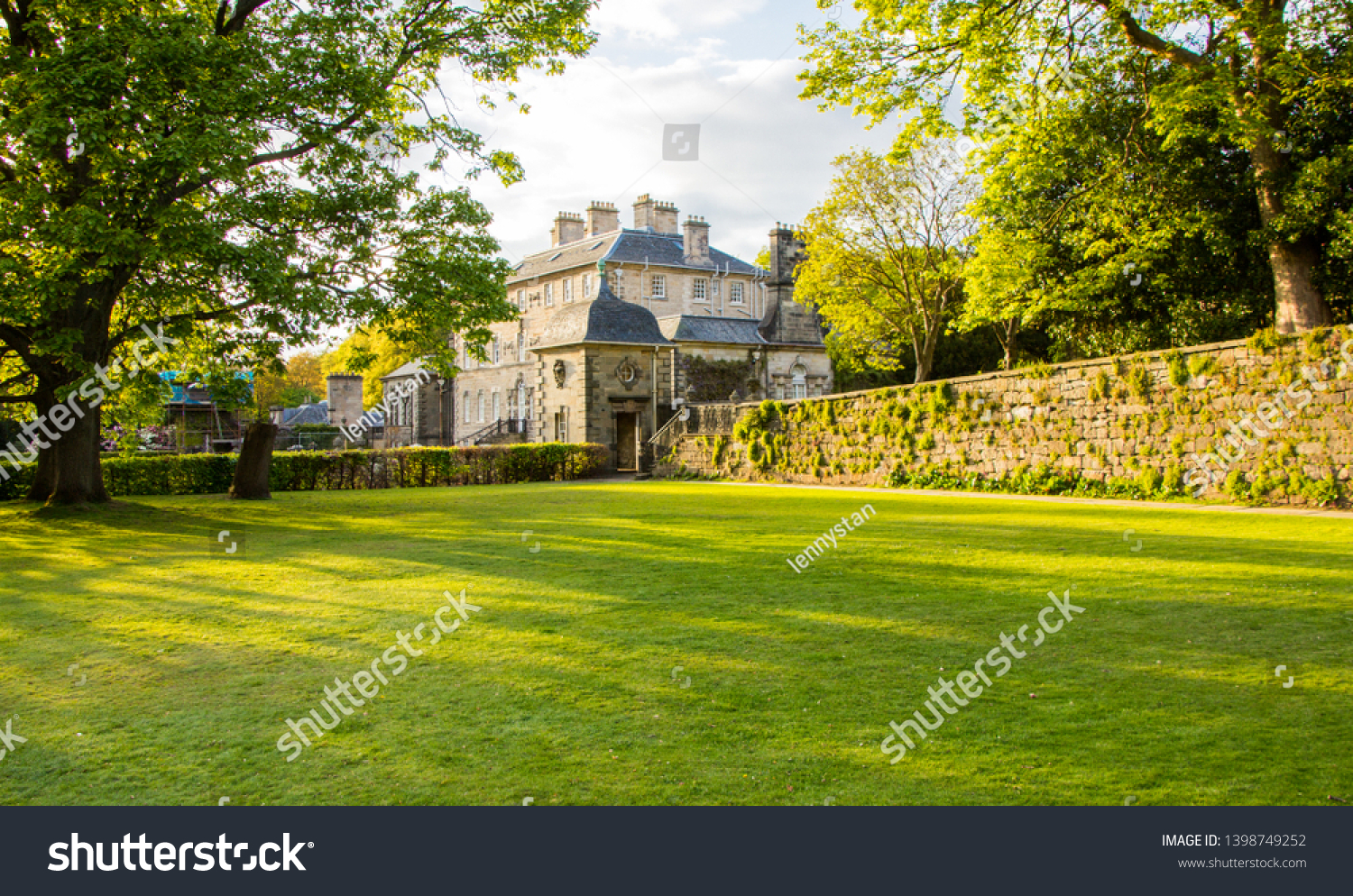 stock-photo-glasgow-pollok-country-park-