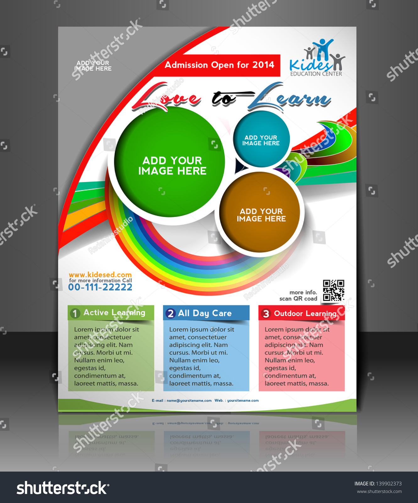 vector business brochure flyer magazine cover poster template save to a lightbox