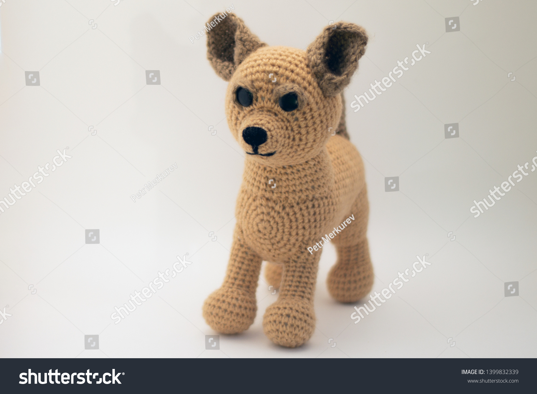 Crocheted Dog, Handmade Dog Toy, Amigurumi dog, Miniature Dog ... | 1101x1500